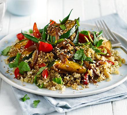 Asian Quinoa Stir Fy