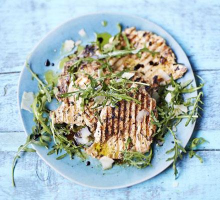 Paillard of chicken with lemon & herbs recipe