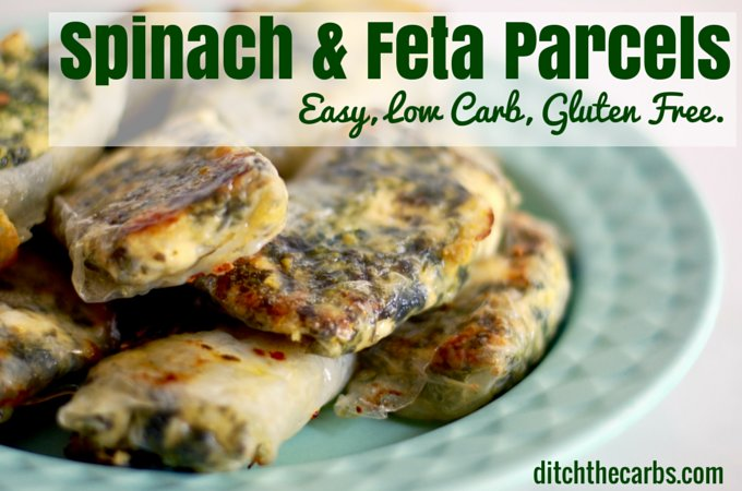 Spinach & Feta Parcels recipe