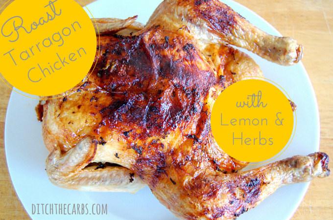 Roast Tarragon Chicken recipe