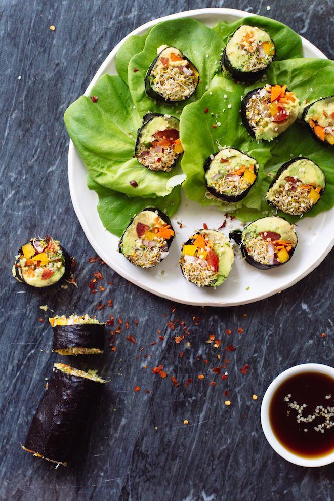 """Veggi """"Sushi"""" Rolls recipe"""