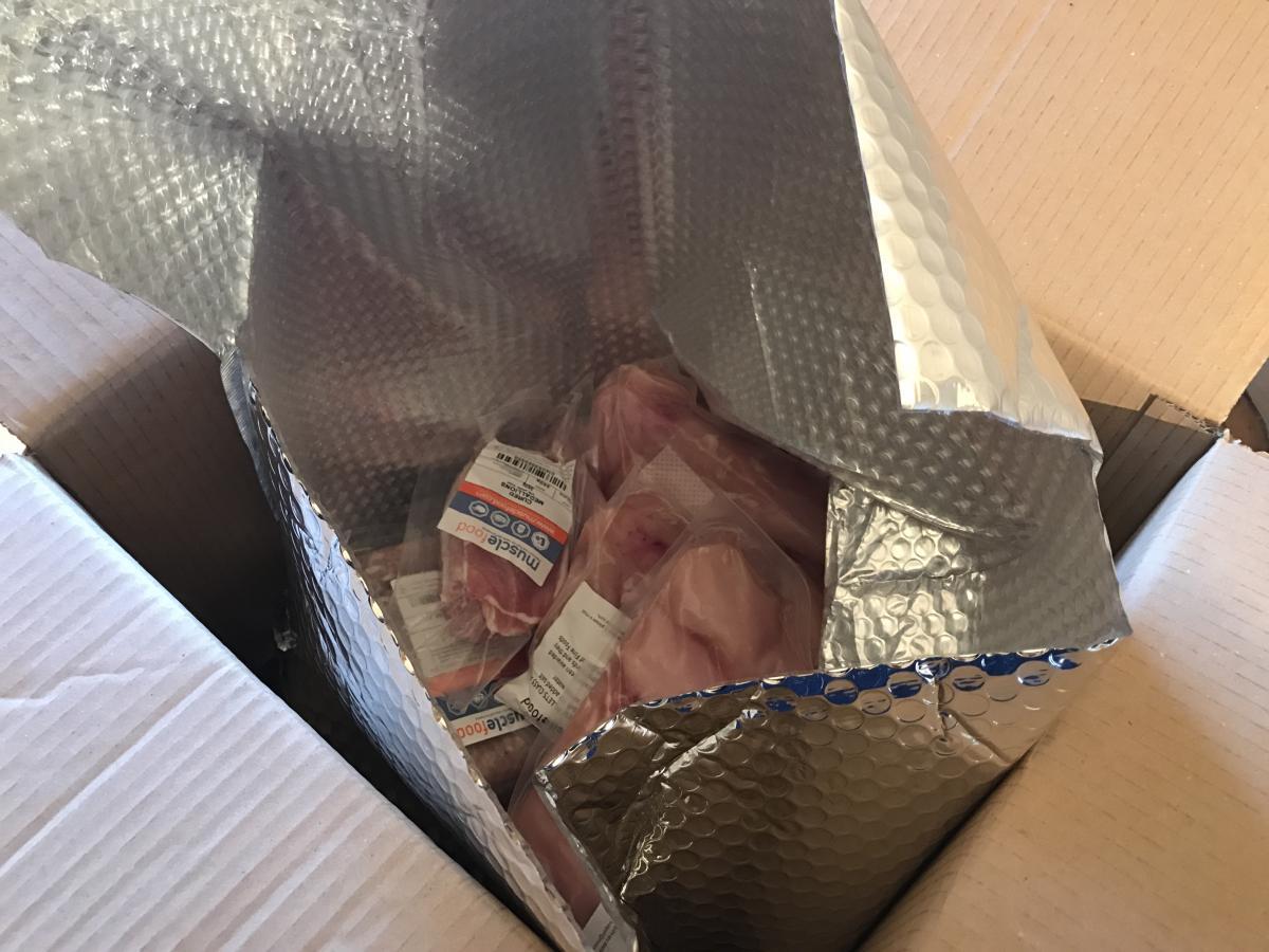 MuscleFoods Packaging - Inner cool bag