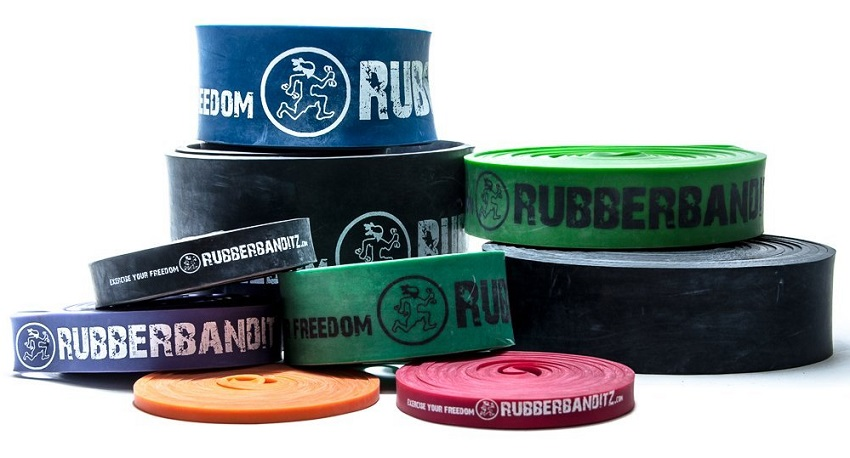 Rubberbanditz Resistance Bands. How to build a home calisthenics gym.