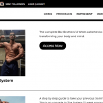 The Bar Brothers Workout: 'The System' 12 Week Calisthenics Program