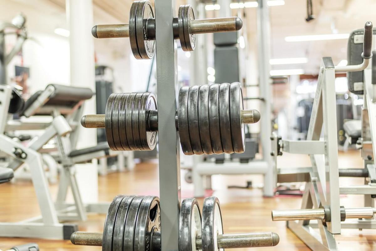 Rack of weights
