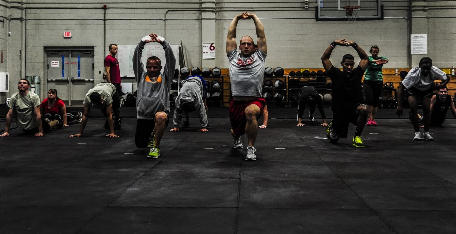 CrossFit Box - Group of people
