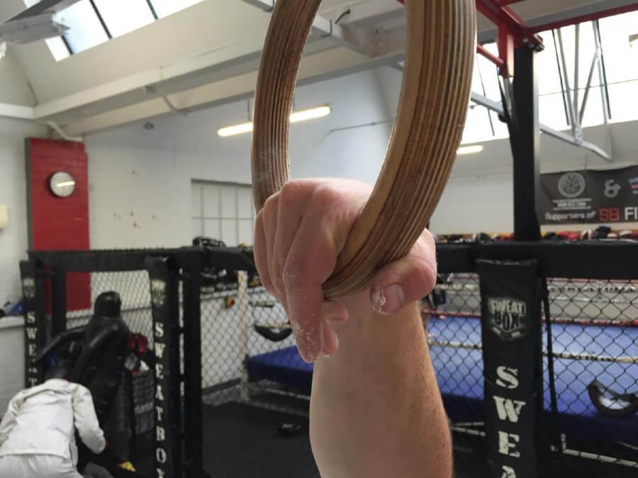 False Grip On Rings 2