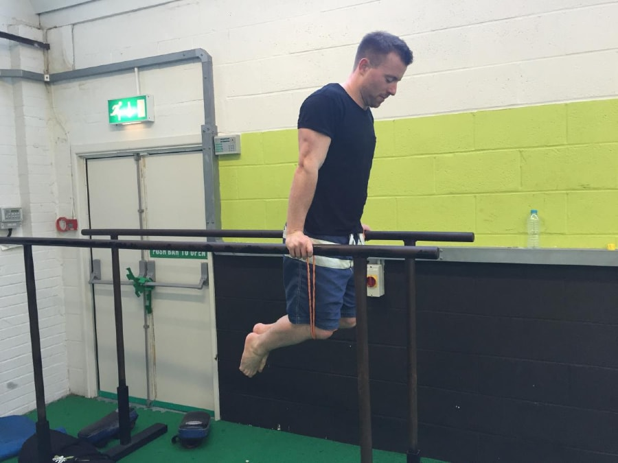 Resistance Band Dips 1 of 2