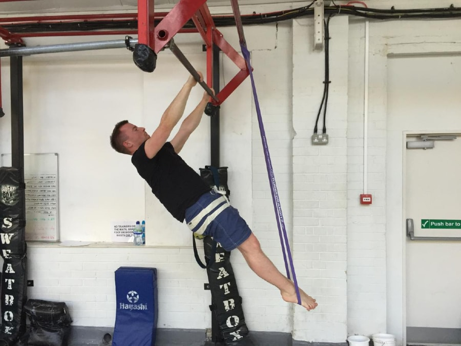 Resistance Band Front Lever 1 of 2