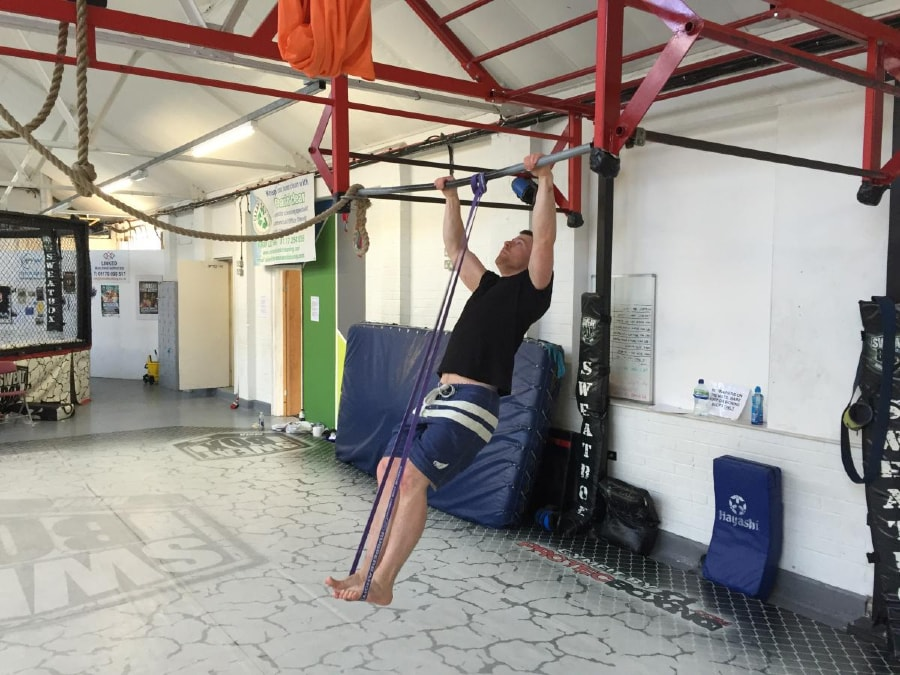 Resistance Band Muscle-Up 1 of 2