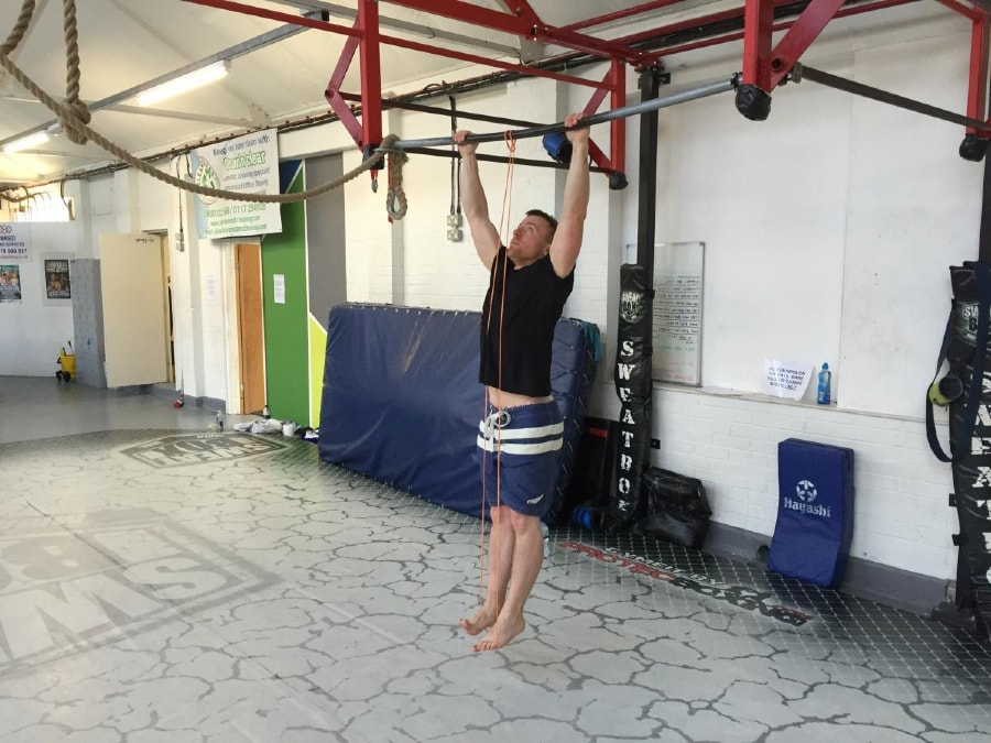 Resistance Band Pull-Up 1 of 2