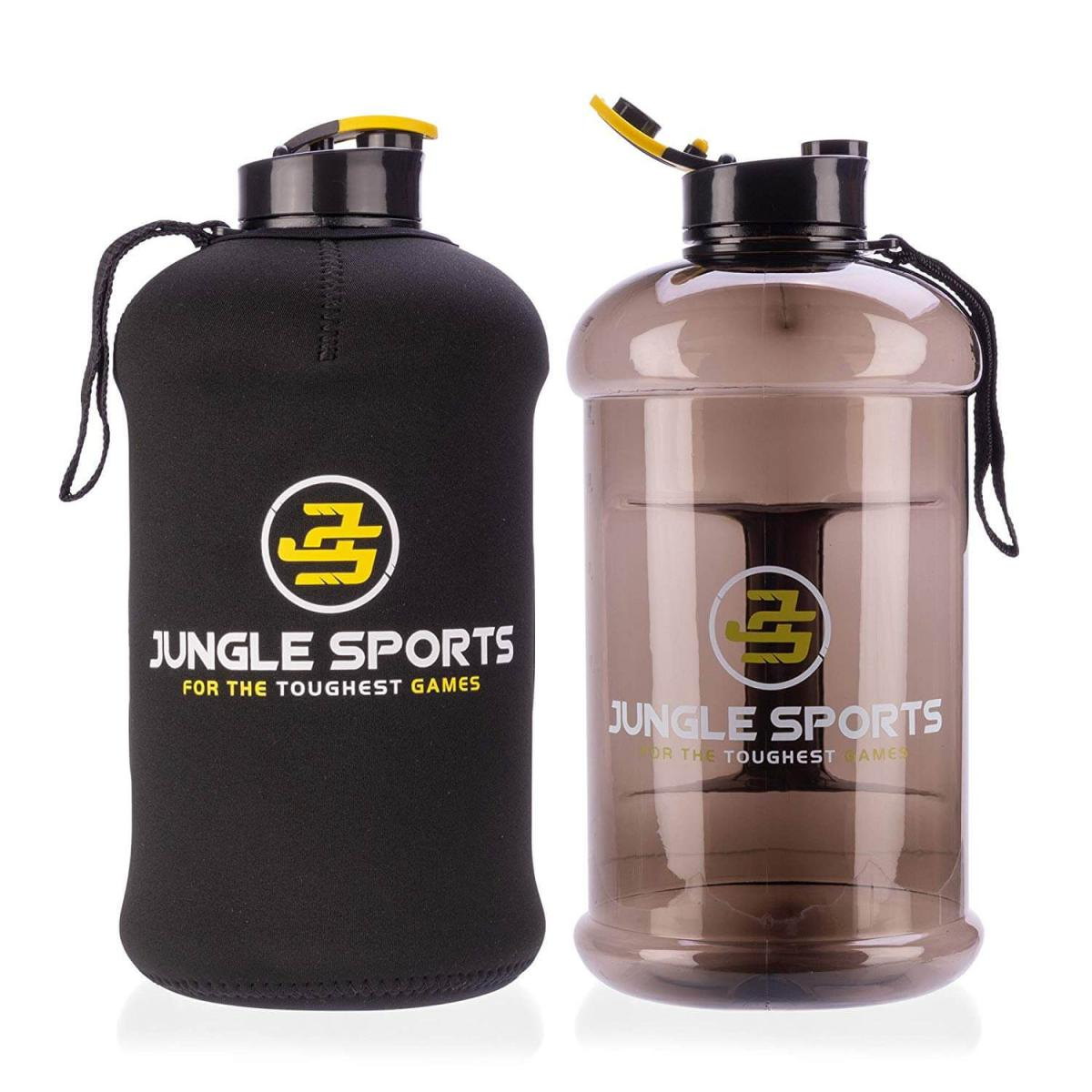 Jungle Sports 2.2L Protected Bottle