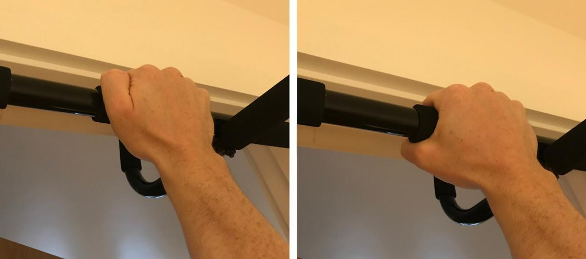 Overhand vs Underhand Pull-Up Grip