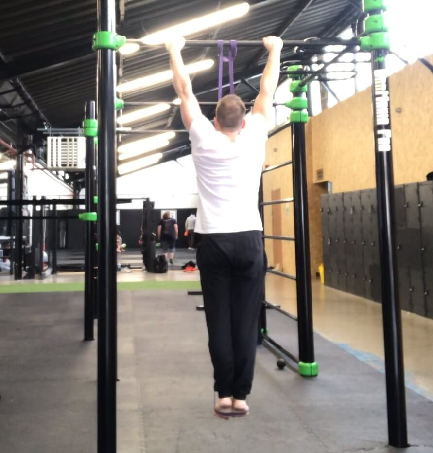 Pull-Up Progression Using a Resistance Band