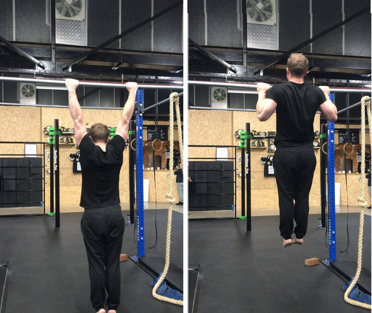 Pull-Up Technique - Dead Hang to Full Contraction