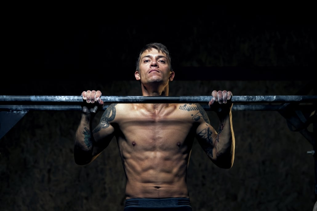Pull-Up Bar (Stock Photo)
