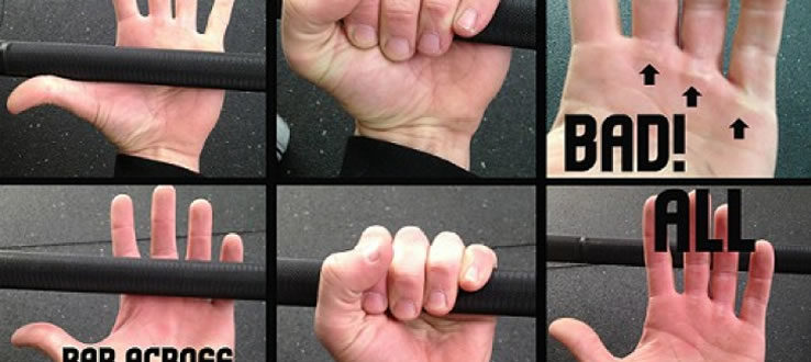 Grabbing the pull-up bar: Grip selection