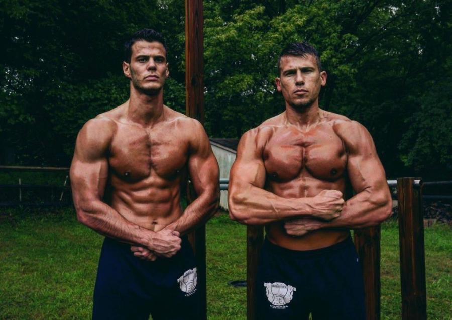 Left - Dusan Djolevic / Right - Lazar Novovic