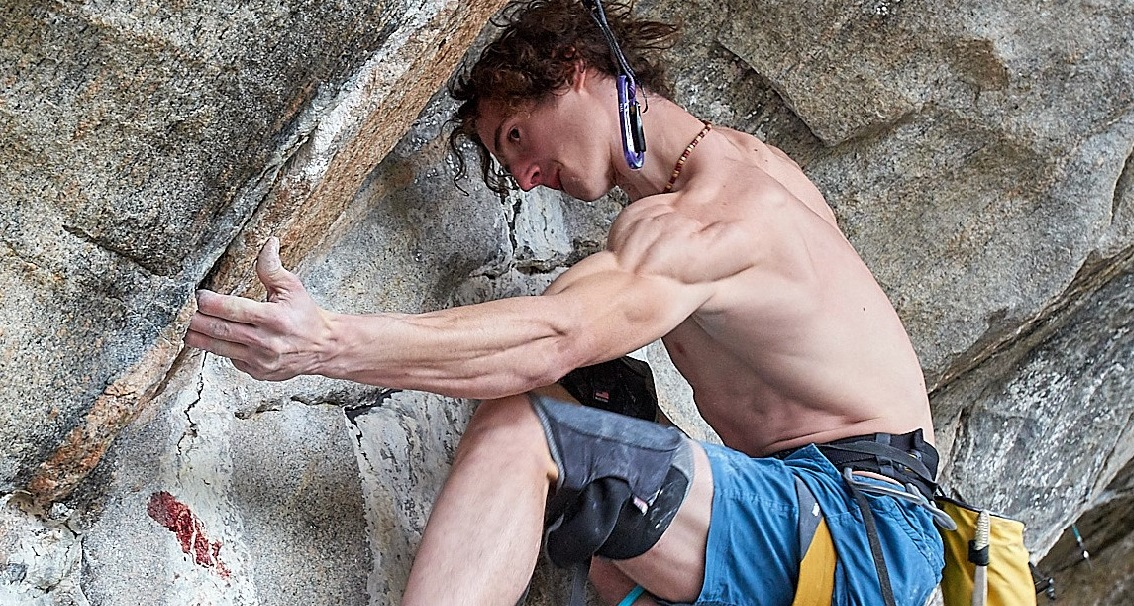 Adam Ondra Rock Climbing