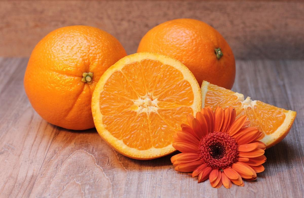 Vitamin C - Found in Oranges