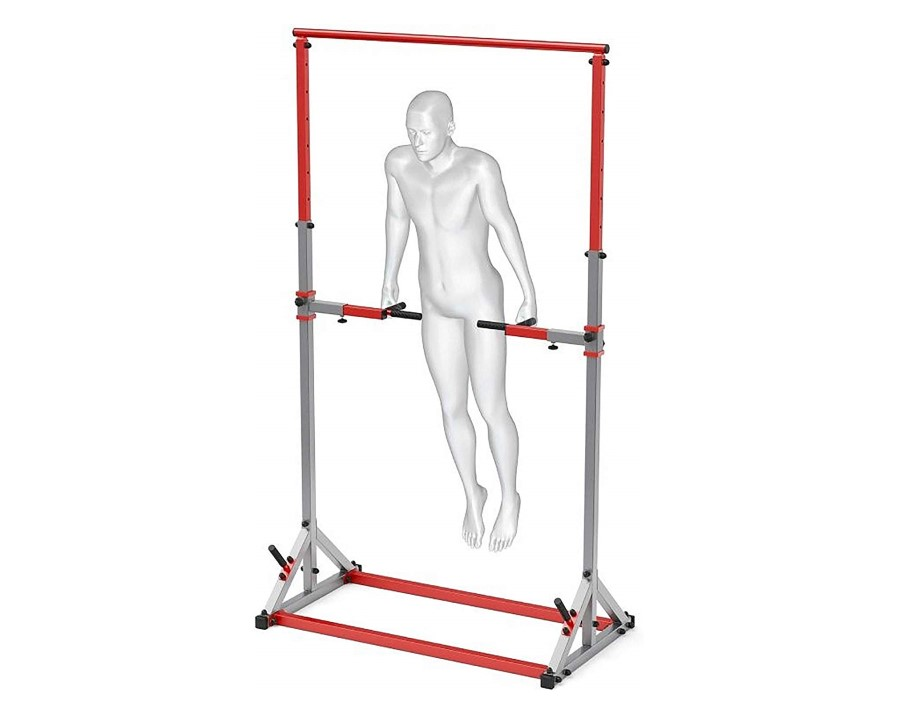 Multi Function Pull Up Free Standing Workout Station Bar
