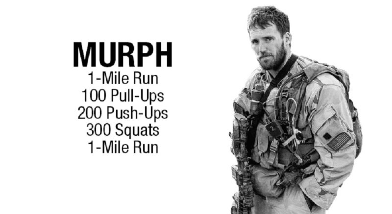 The Murph CrossFit Workout
