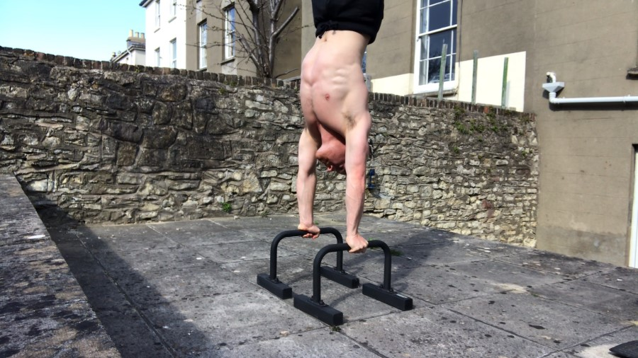 Gravity Fitness Parallettes Handstand