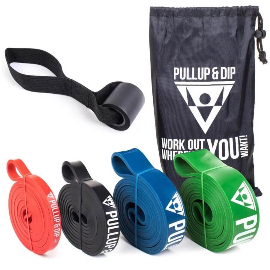 Pullup & Dip resistance bands set