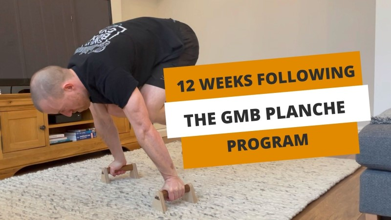 My Results Following The GMB Planche Program For 12 Weeks - YouTube thumbnail image